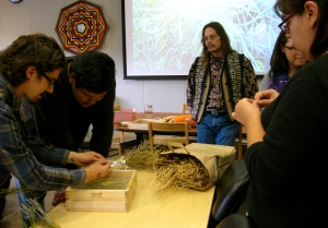 Anishinaabe Seed Project activity.